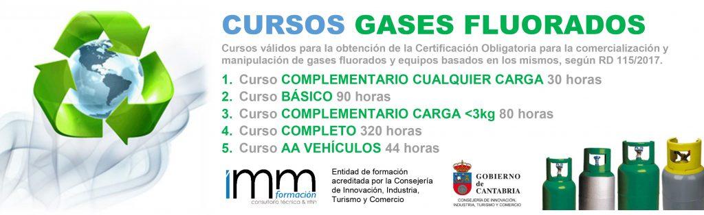 CURSOS GASES FLUORADOS 2017
