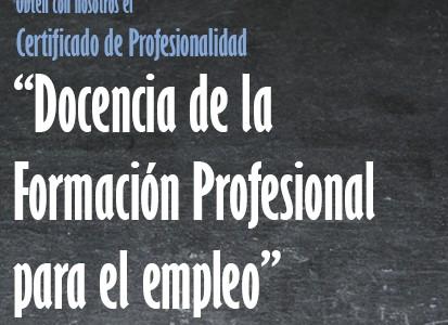 Programa de Formación para ocupados 2016 en Santander y Reinosa
