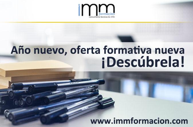 Acciones Formativas 2017 IMM Formación